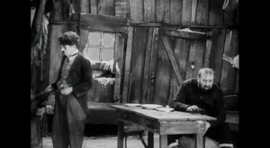 "Extrait de ""The gold Rush"" de Charlie Chaplin (1926) in ""Résistance Naturelle"" (00:57:19)"