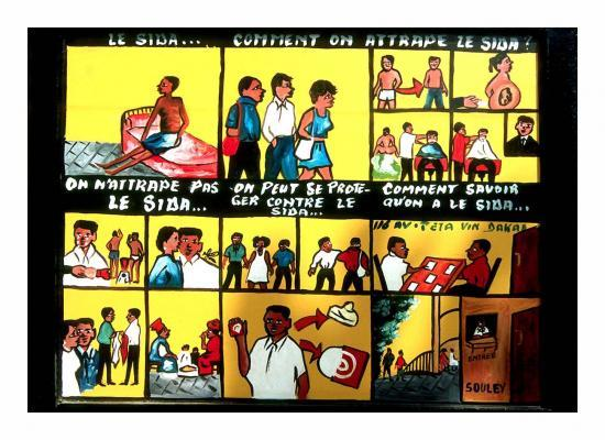 Campagne anti-sida au Sénégal